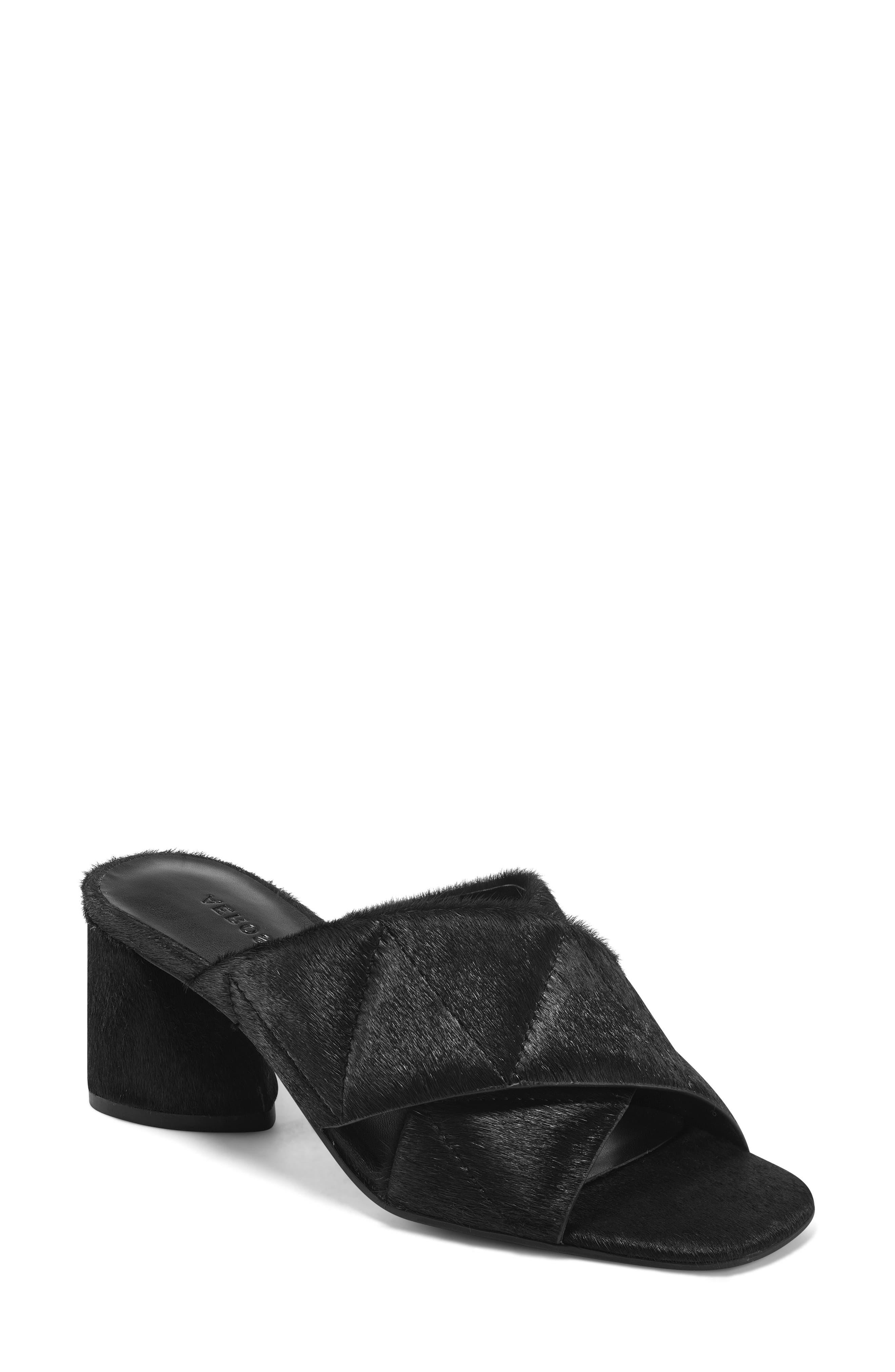 Eben Block Heel Slide Sandal