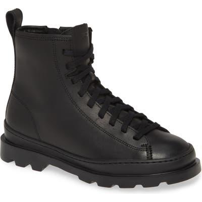 Camper Brutus Combat Boot, Black