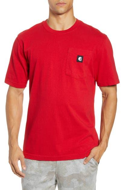 Hurley T-shirts X CARHARTT LOGO POCKET T-SHIRT