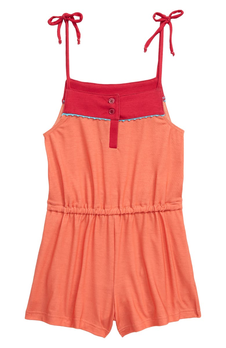 HEART AND HARMONY Pompom Cover-Up Romper, Main, color, 833