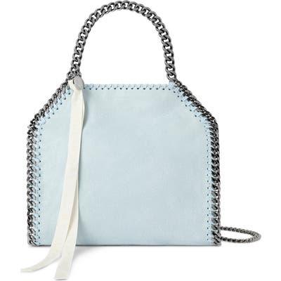 Stella Mccartney Mini Isetan Faux Leather Tote - Blue