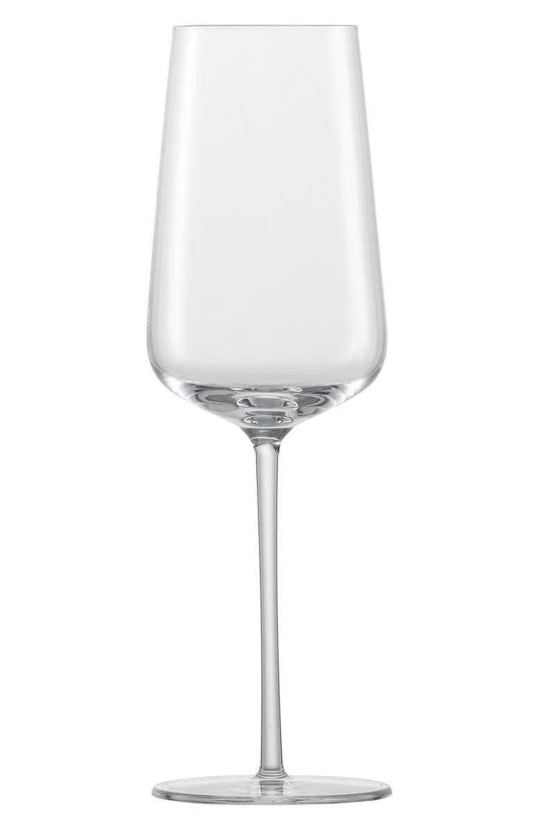 SCHOTT ZWIESEL Vervino Set of 6 Champagne Glasses, Main, color, 100