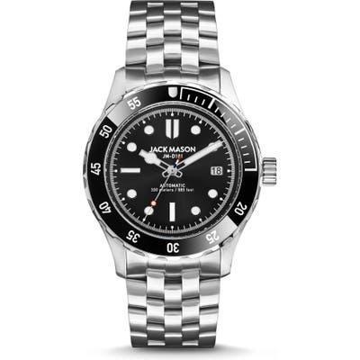 Jack Mason Diving Automatic Bracelet Watch, 42Mm