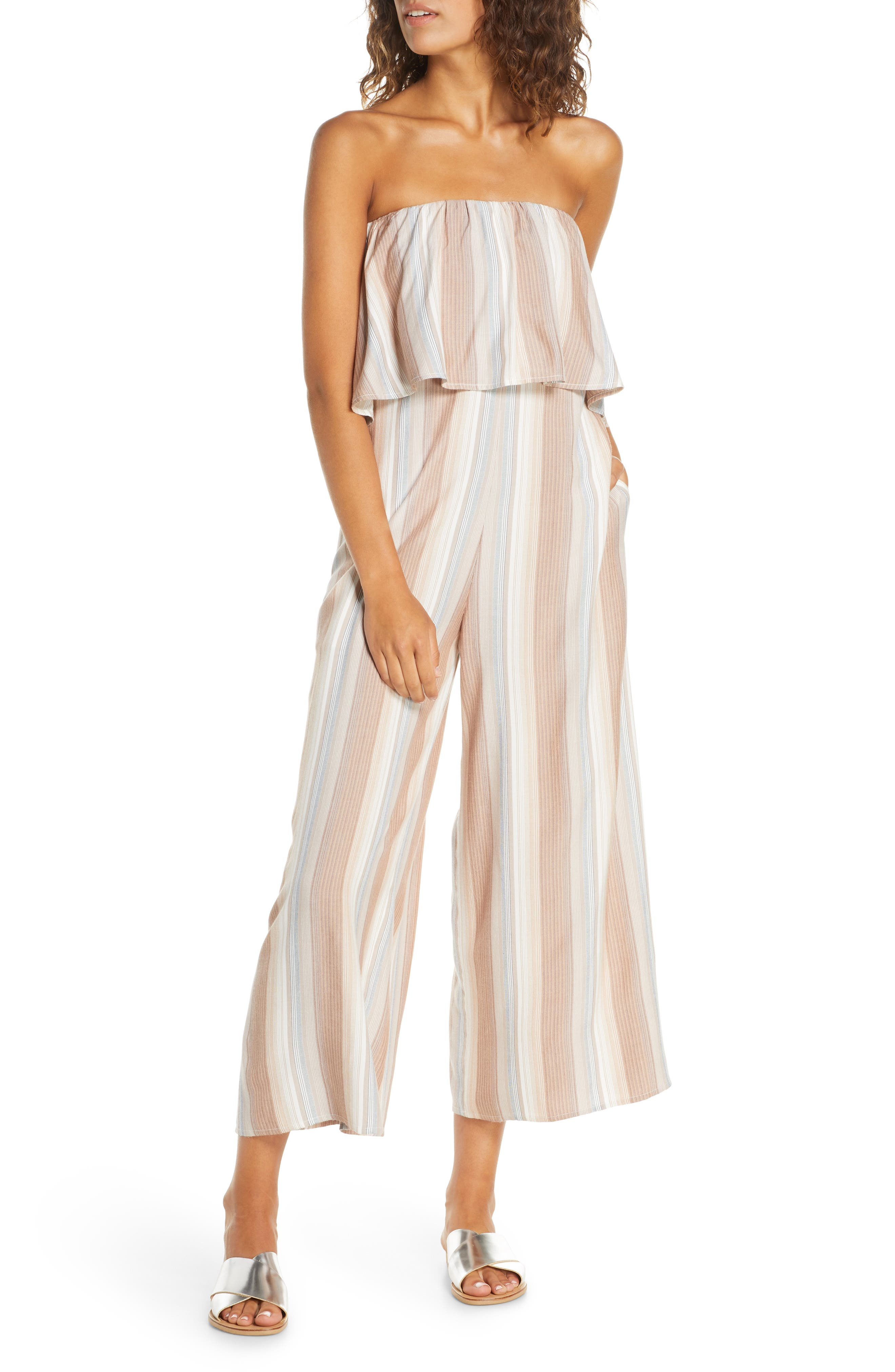 Image of L*Space Strapless Cover-Up Jumpsuit