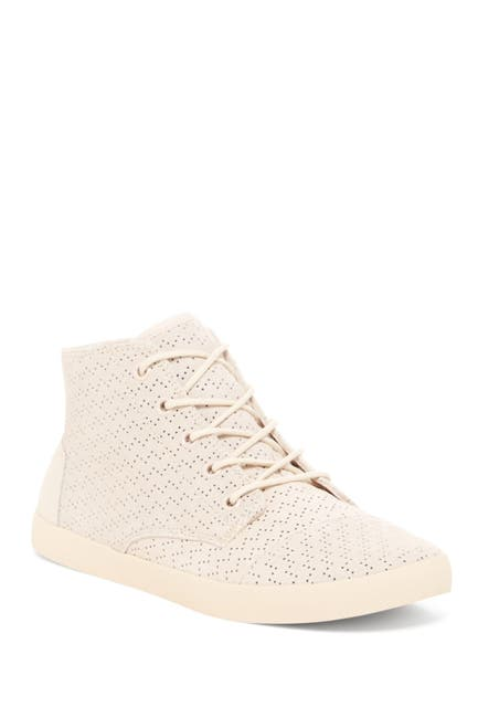 Image of TOMS Paseo High Top Perforated Sneaker