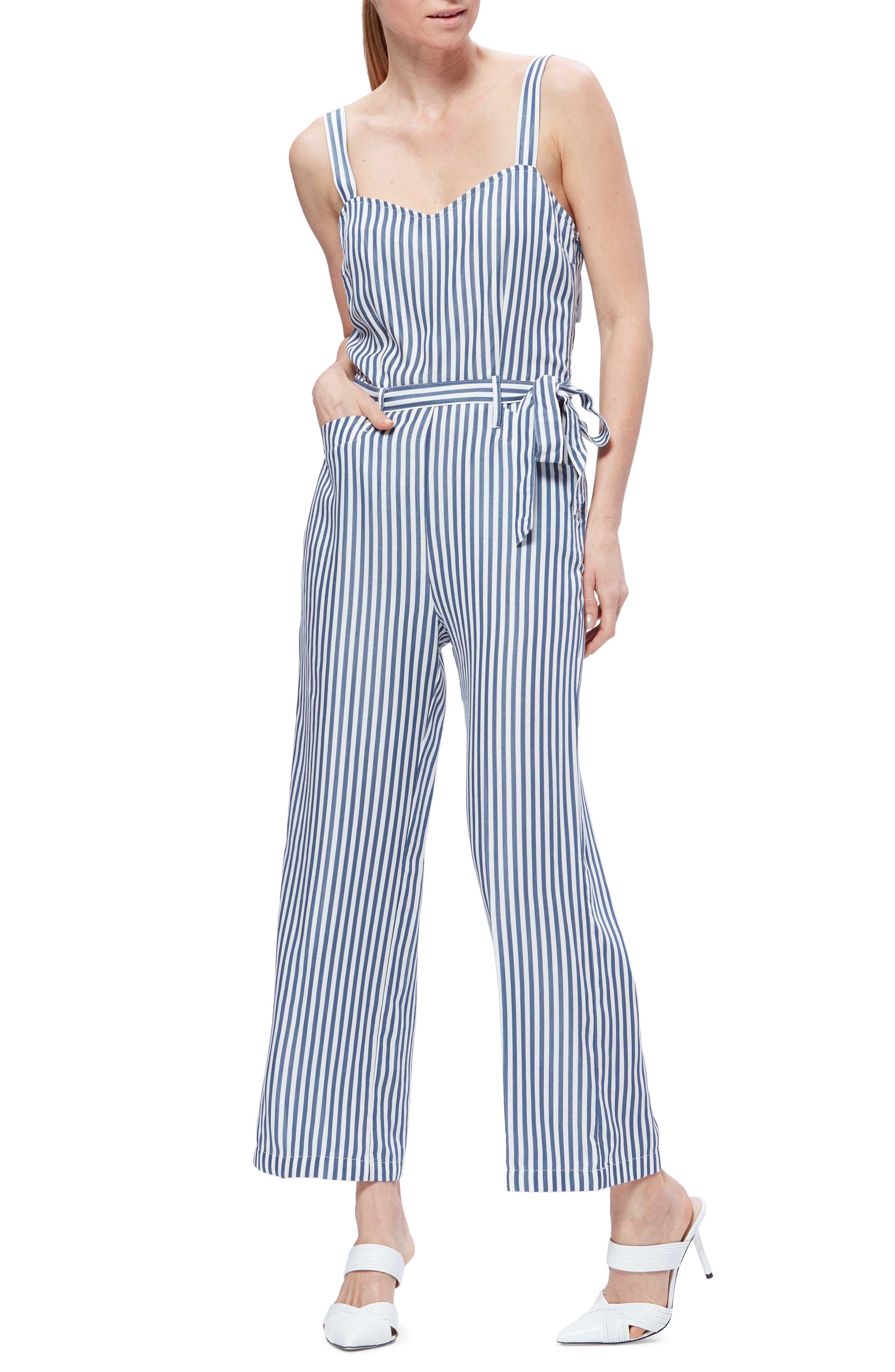 Image of PAIGE Emma Stripe Jumpsuit