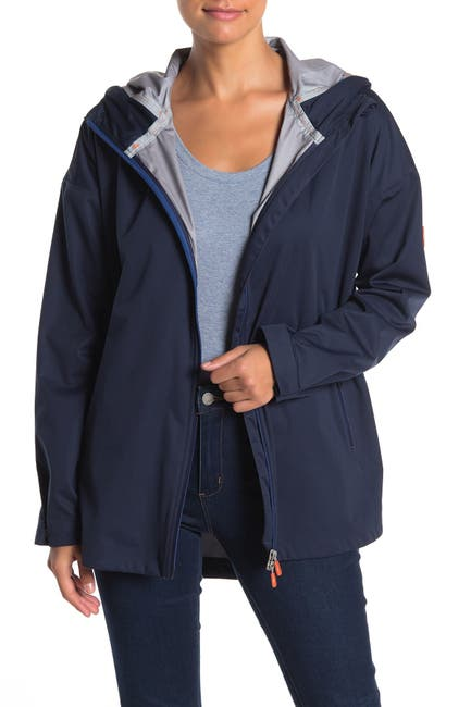 Image of Save The Duck Bark Ultra Light Hooded Jacket