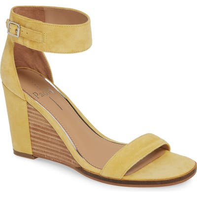 Linea Paolo Elodie Wedge Sandal- Yellow