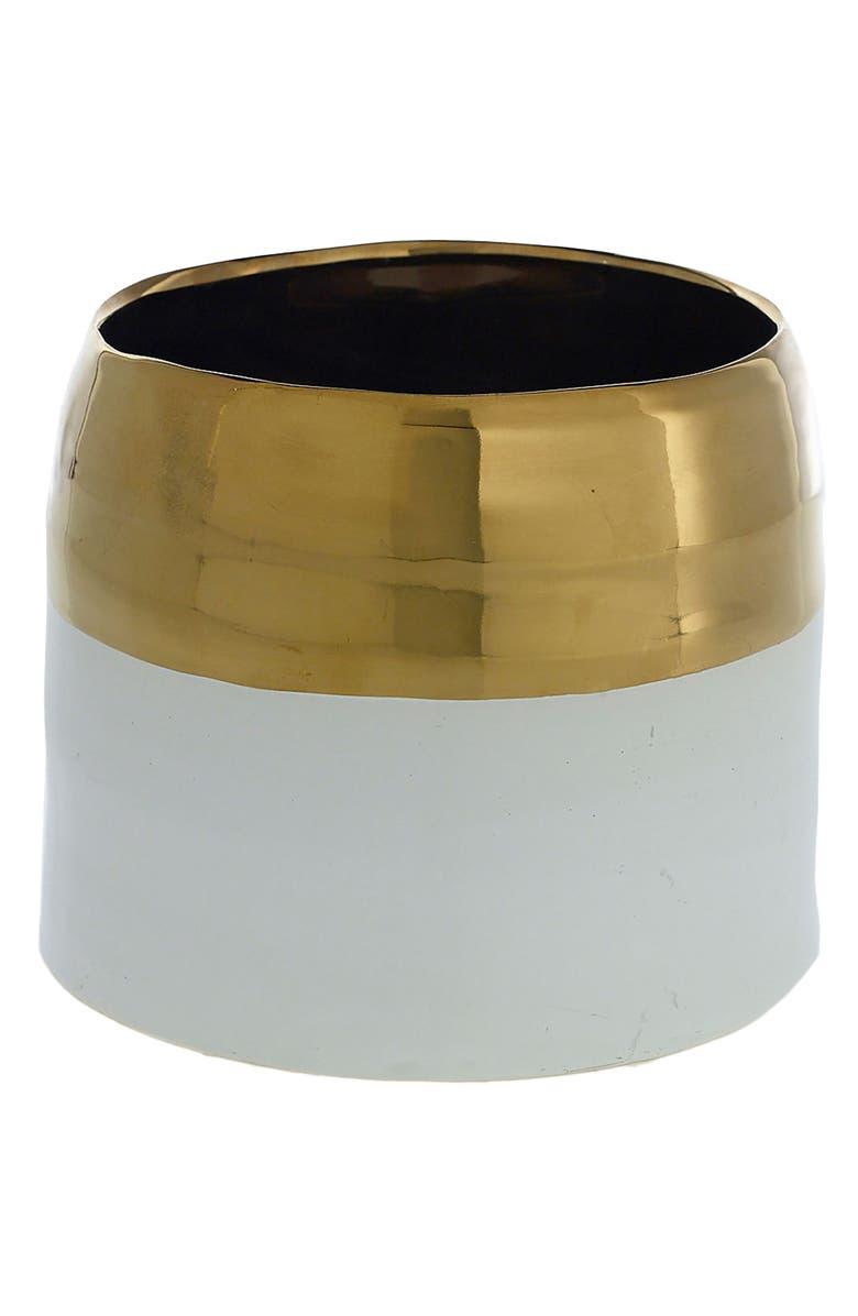 ACCENT DECOR Claire Ceramic Pot, Main, color, 710