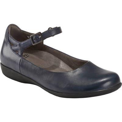Earth Alder 2 Dalma Ankle Strap Shoe, Blue