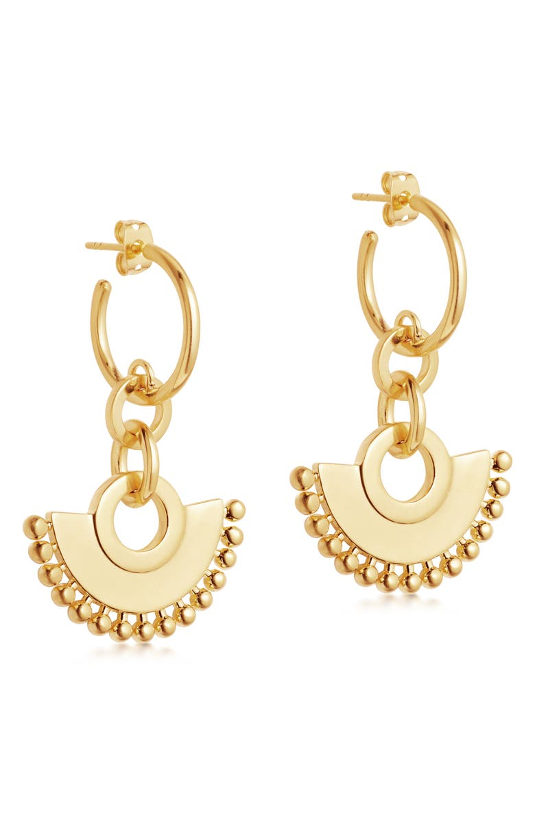 MISSOMA Zenyu Chandelier Hoop Earrings, Main, color, GOLD