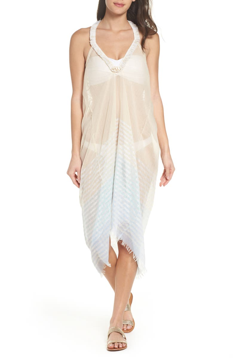 ee3330d5bcdc7 Pool to Party Halter Cover-Up Dress | Nordstrom