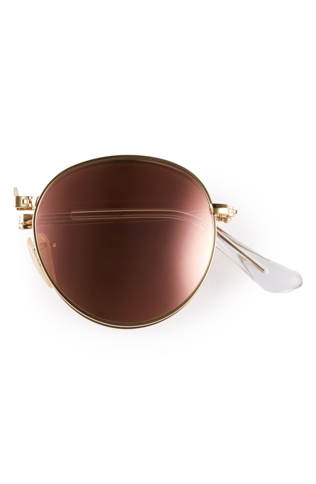 ,                             Icons 50mm Folding Sunglasses,                             Alternate thumbnail 6, color,                             114
