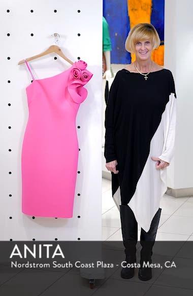 One-Shoulder Sheath Cocktail Dress, sales video thumbnail