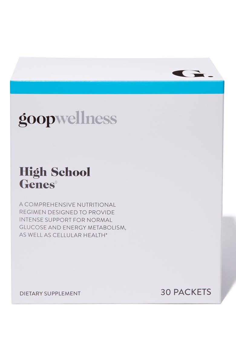 GOOP High School Genes Dietary Supplements, Main, color, 000