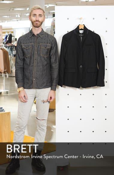 Regent Stand Collar Blazer, sales video thumbnail