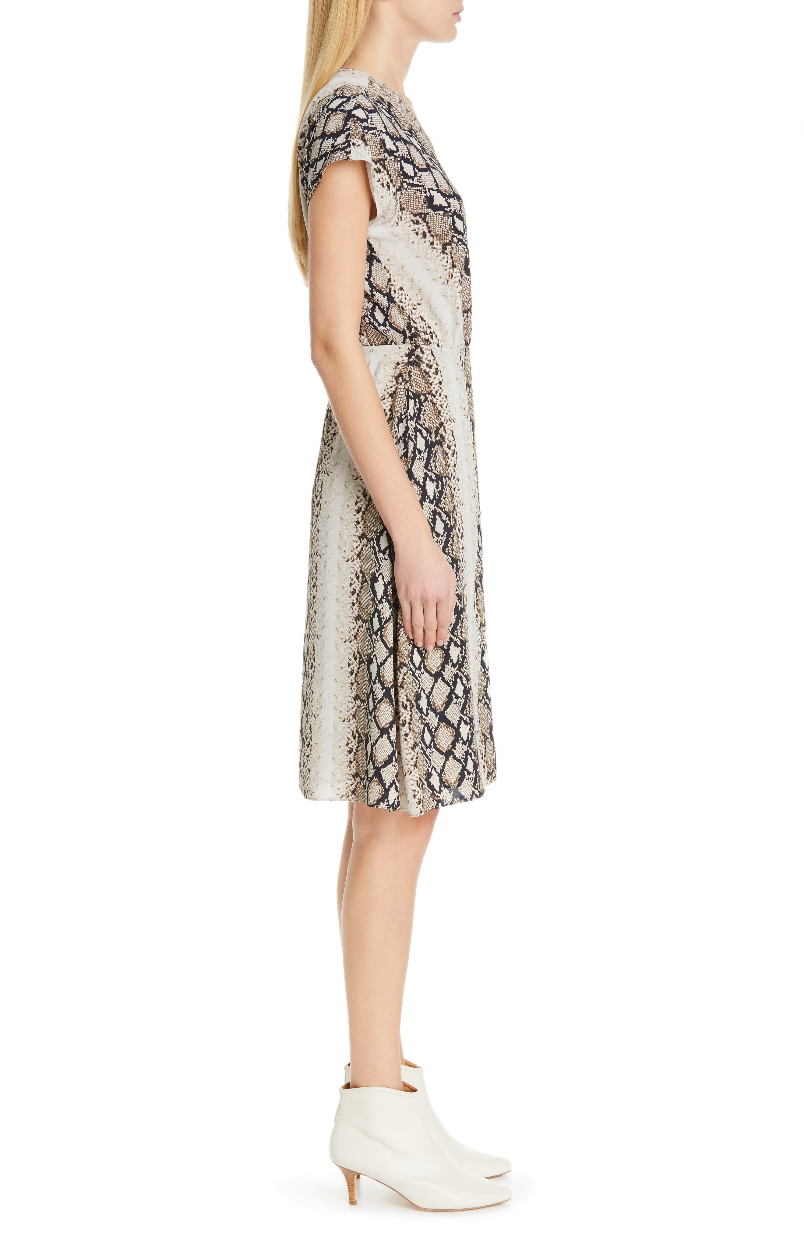 ,                             Bethwyn C Snakeskin Print Wrap Style Dress,                             Alternate thumbnail 10, color,                             900
