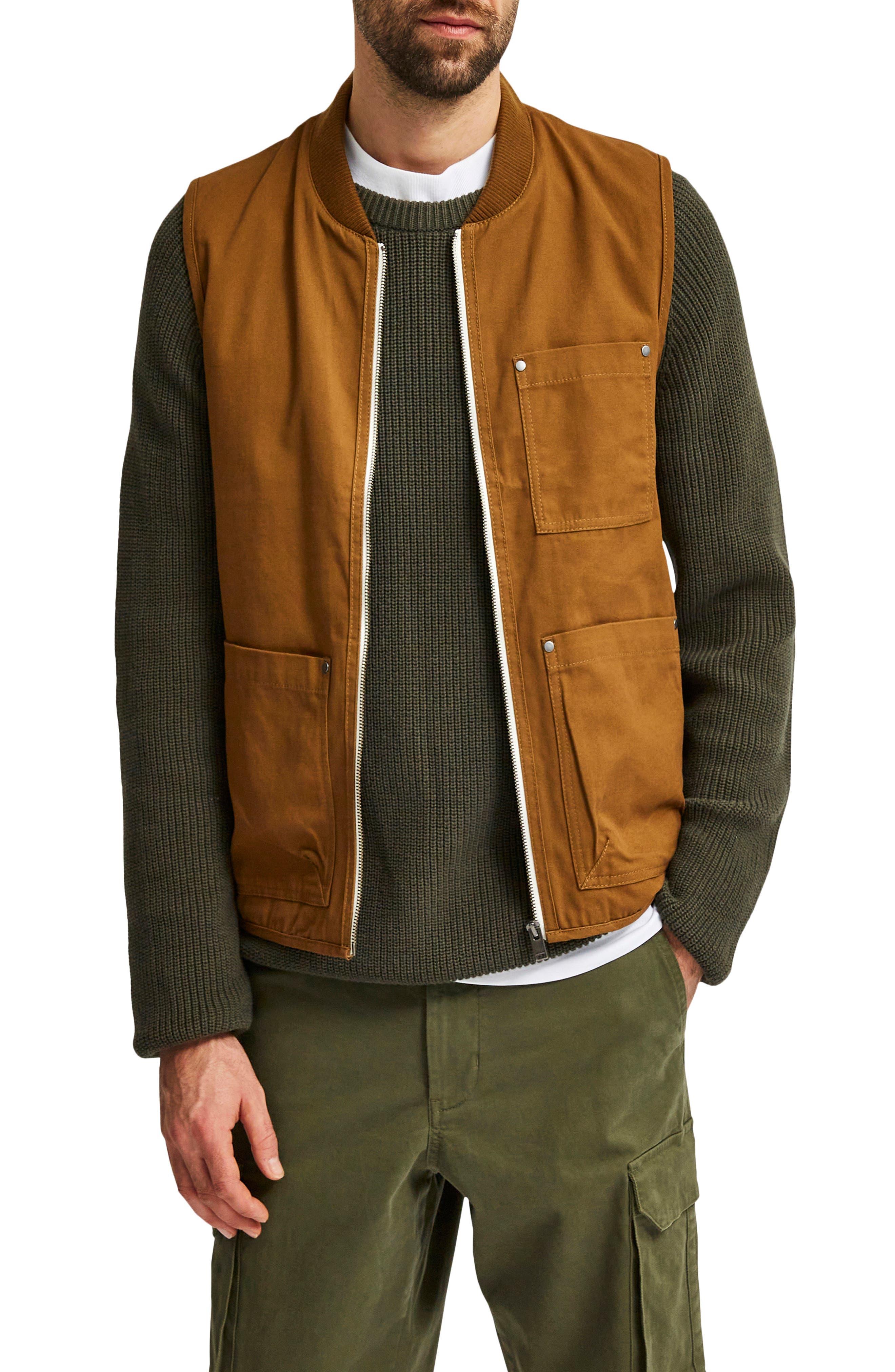 Men's Selected Homme Baker Utility Vest