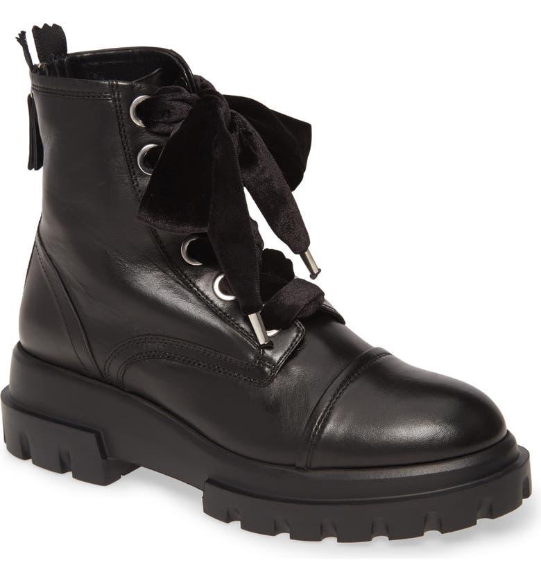 AGL Combat Boot, Main, color, BLACK PATENT