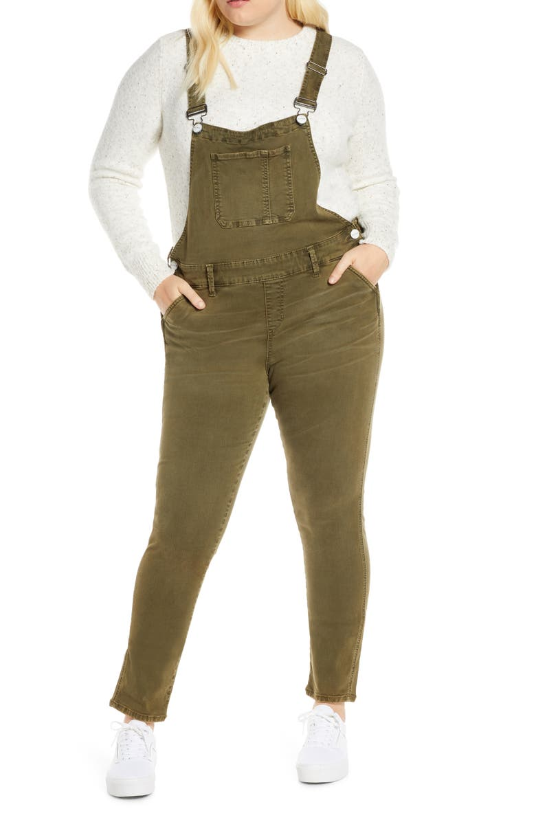 SLINK JEANS The Overalls, Main, color, IVY