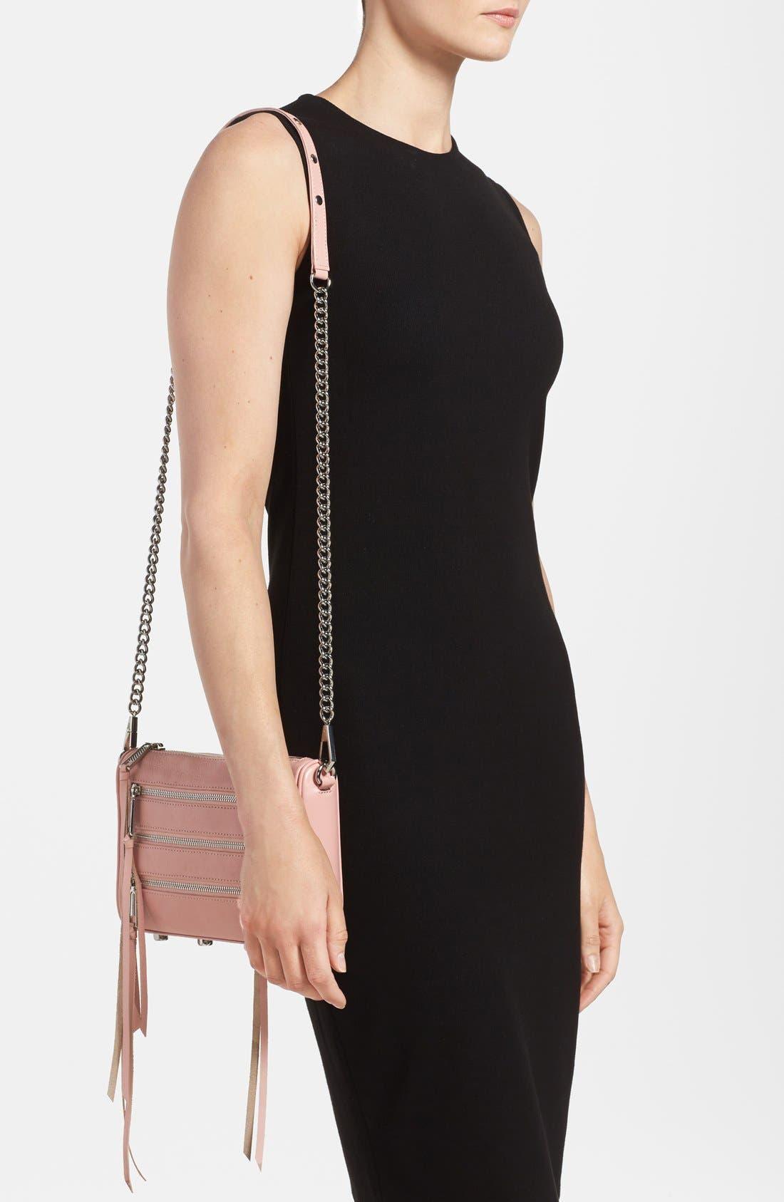,                             'Mini 5 Zip' Convertible Crossbody Bag,                             Alternate thumbnail 23, color,                             650