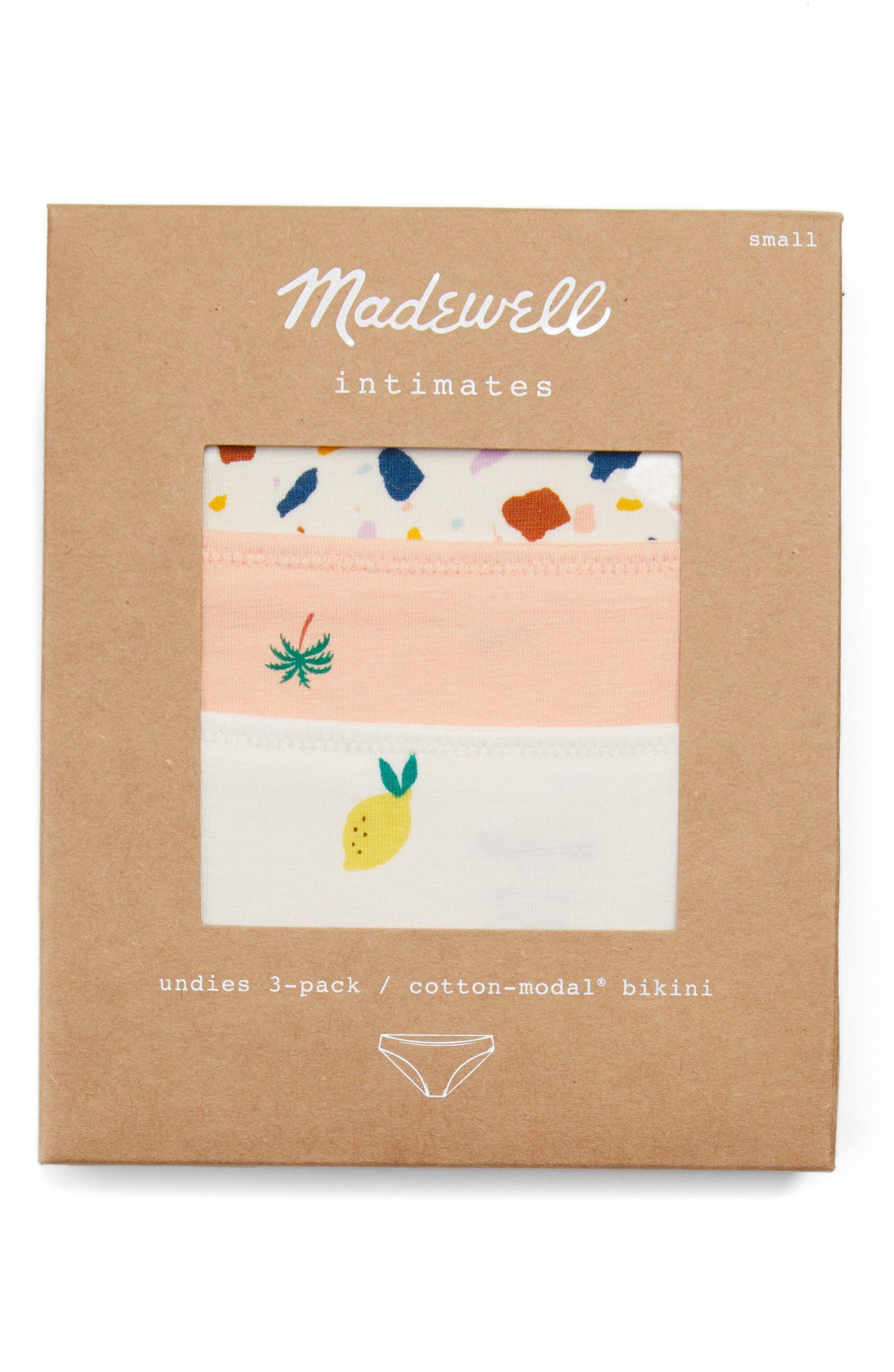 6ecf75fe5fa6 Madewell 3-Pack Bikini | Nordstrom