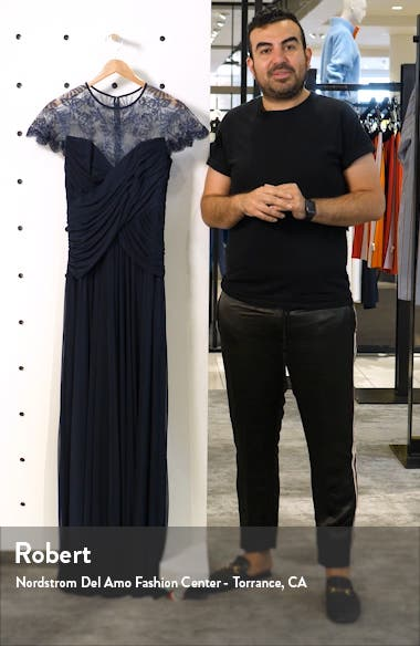 Lace Mesh Gown, sales video thumbnail