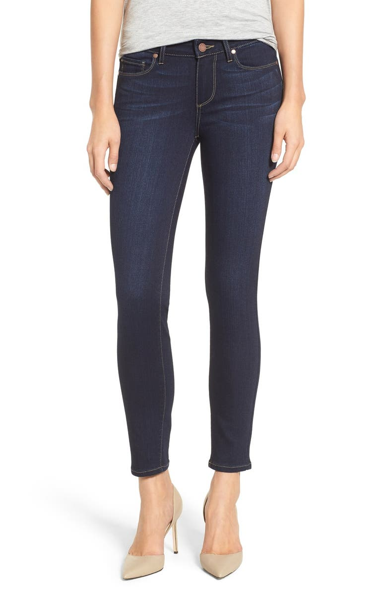 PAIGE 'Transcend - Verdugo' Ankle Skinny Jeans, Main, color, 400
