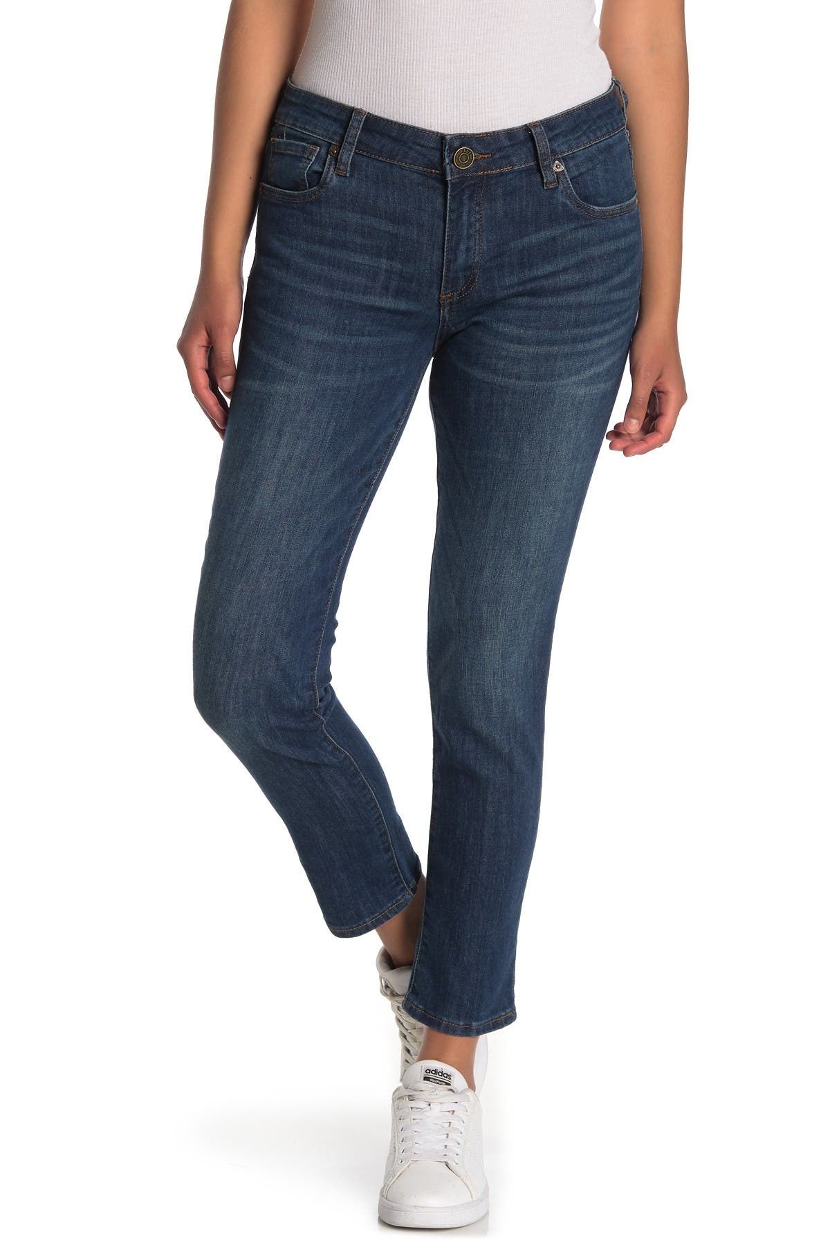 Image of KUT from the Kloth Carrie Rolled Boyfriend Jeans