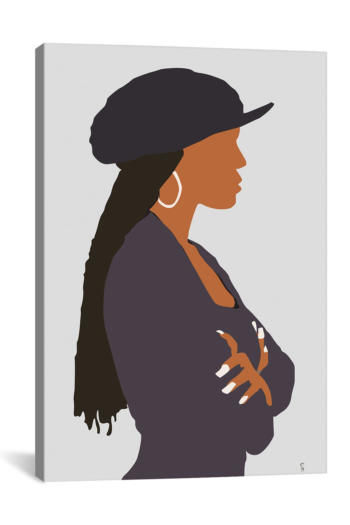 Image of iCanvas Poetic Justice  Janet by GNODpop