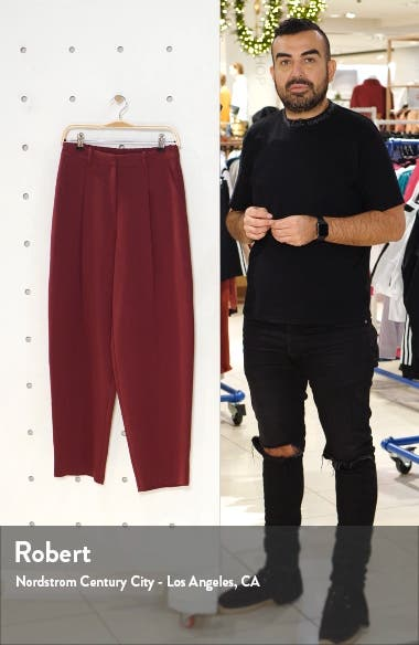 Lulu Elastic Back Trousers, sales video thumbnail