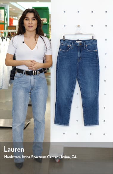 The High Waist Slim Boy Jean, sales video thumbnail