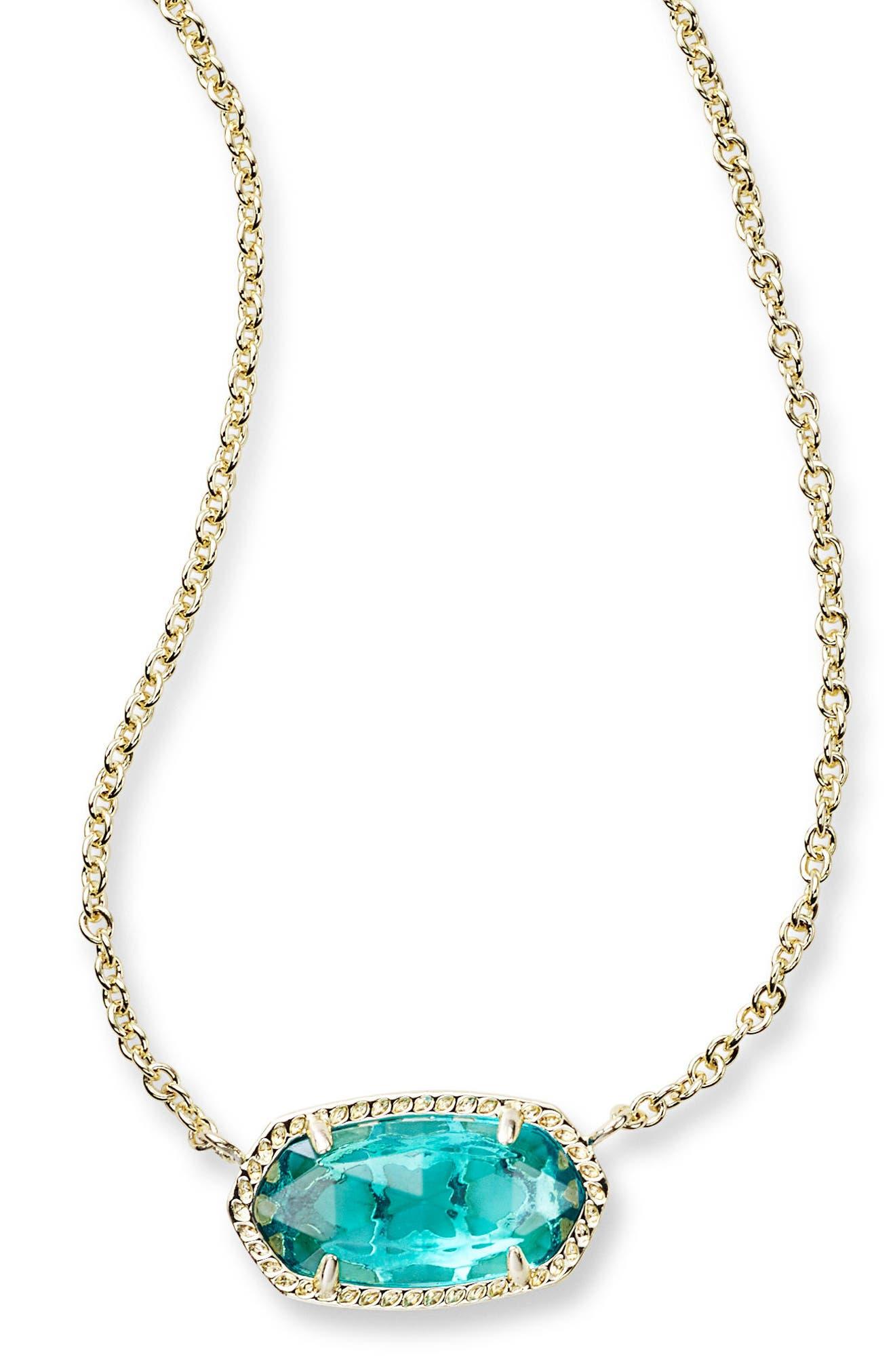 ,                             Elisa Pendant Necklace,                             Alternate thumbnail 48, color,                             401