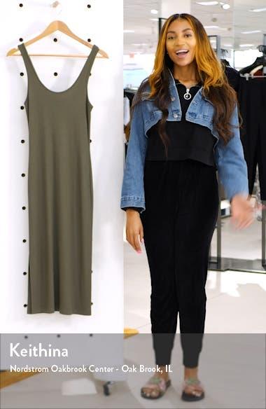 Side Slit Midi Tank Dress, sales video thumbnail