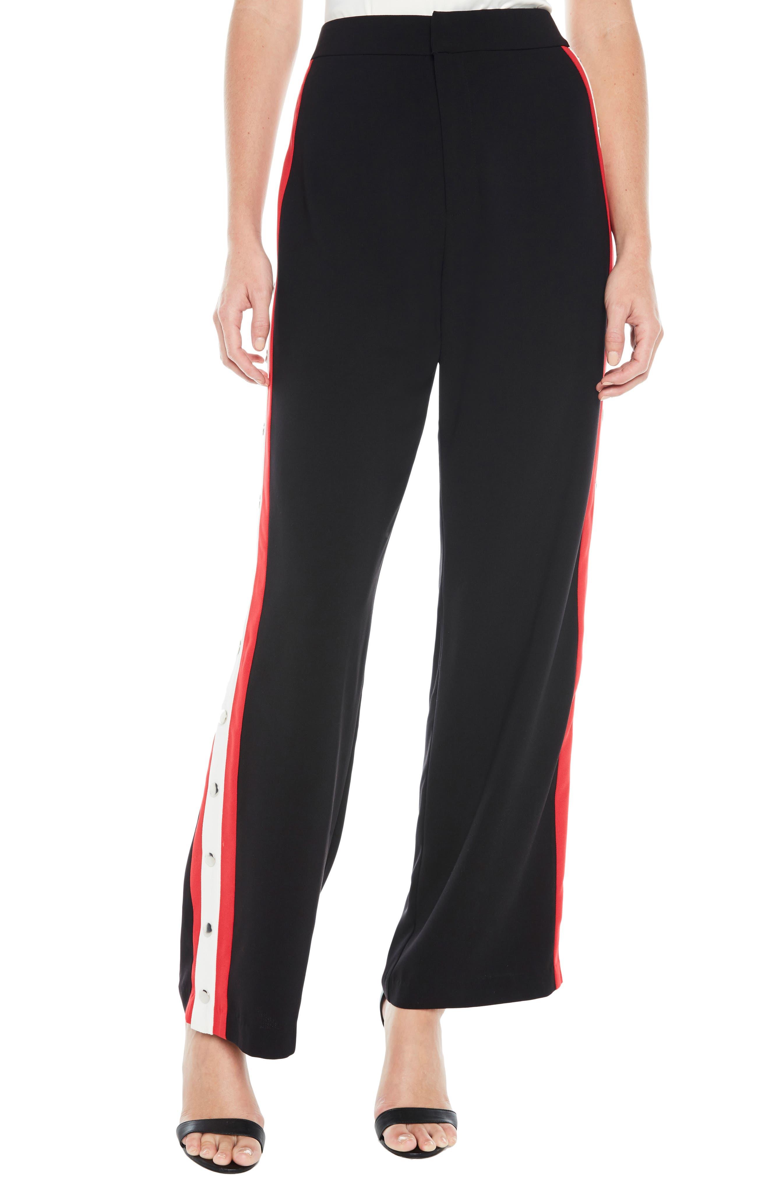 Stripe Snap Pants