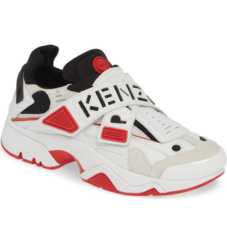 KENZO New Sonic Sneaker, Main, color, MEDIUM RED