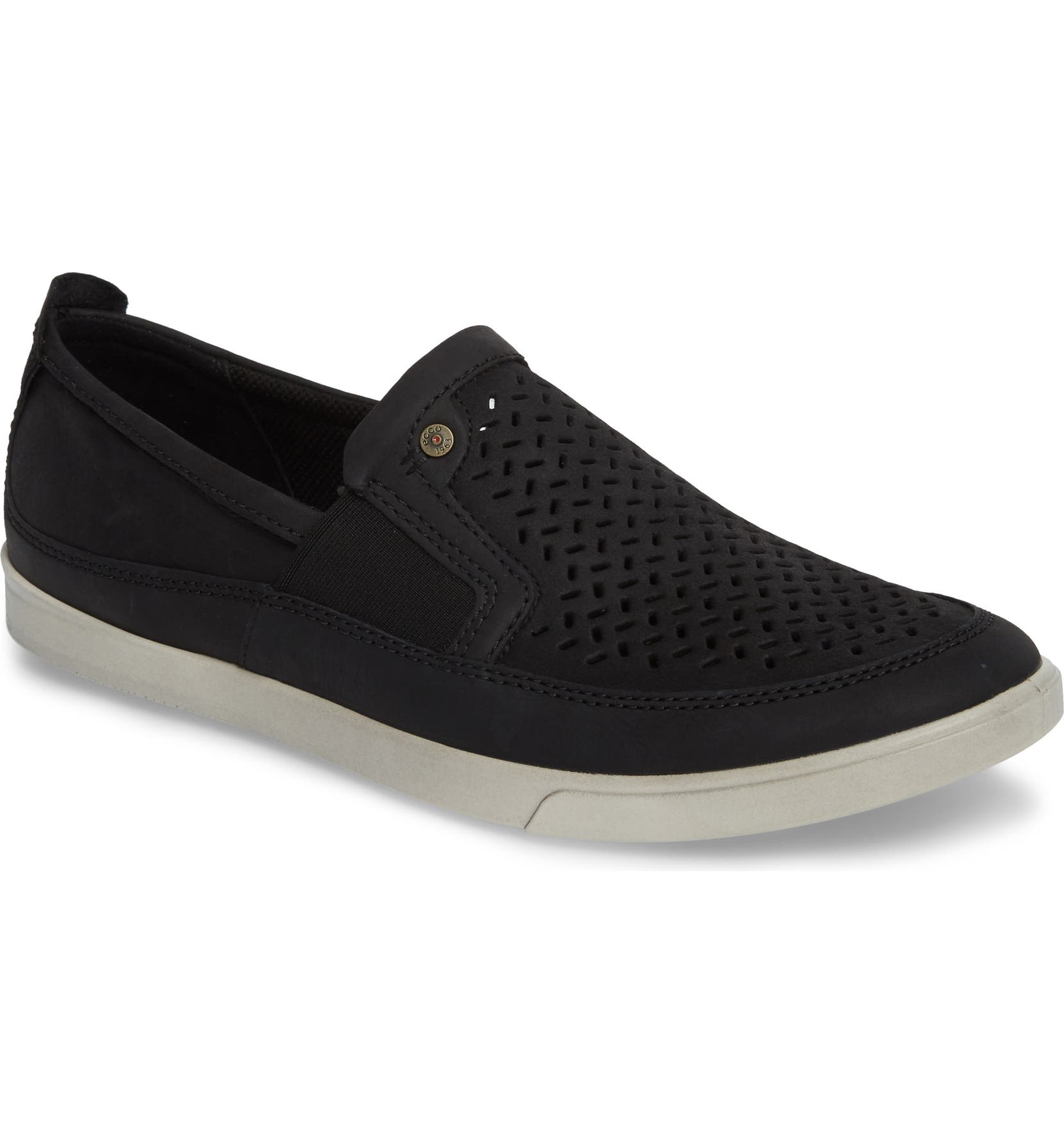 a46c240de4 'Collin' Perforated Slip On Sneaker