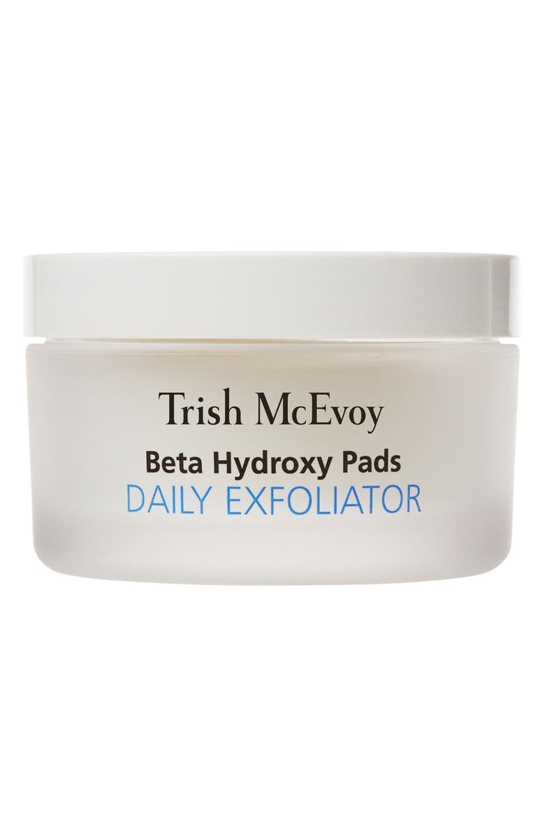 TRISH MCEVOY Correct and Brighten<sup>®</sup> Beta Hydroxy Pads Daily Exfoliator, Main, color, 000