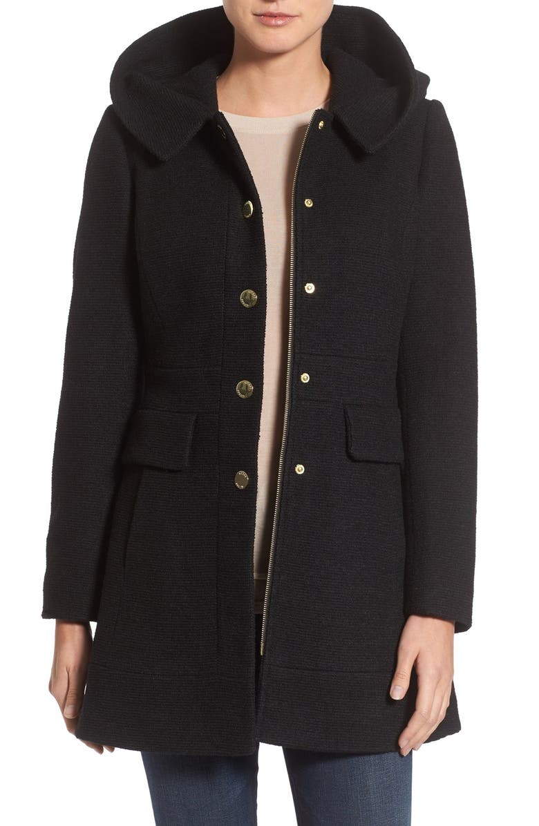 GUESS 'Mod' Hooded Jacket, Main, color, 001
