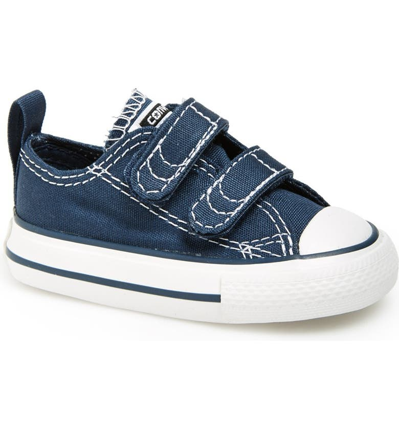 CONVERSE Chuck Taylor<sup>®</sup> 'Double Strap' Sneaker, Main, color, NAVY