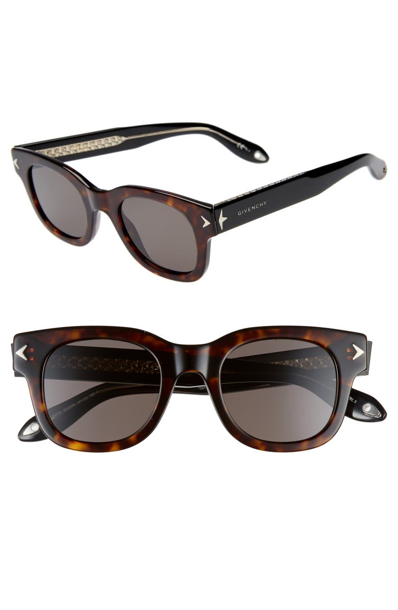 GIVENCHY 47mm Sunglasses, Main, color, 200