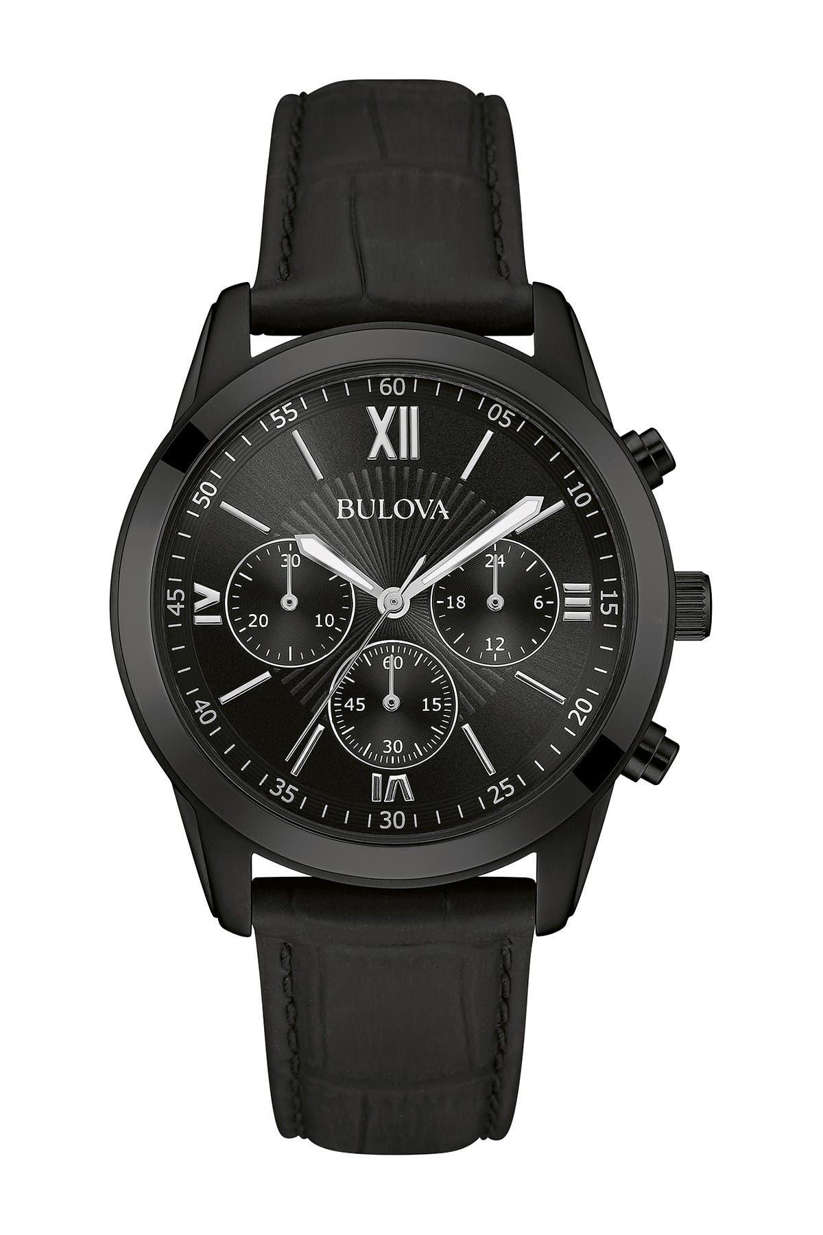 Image of Bulova Men's Quartz Dress Watch, 42mm