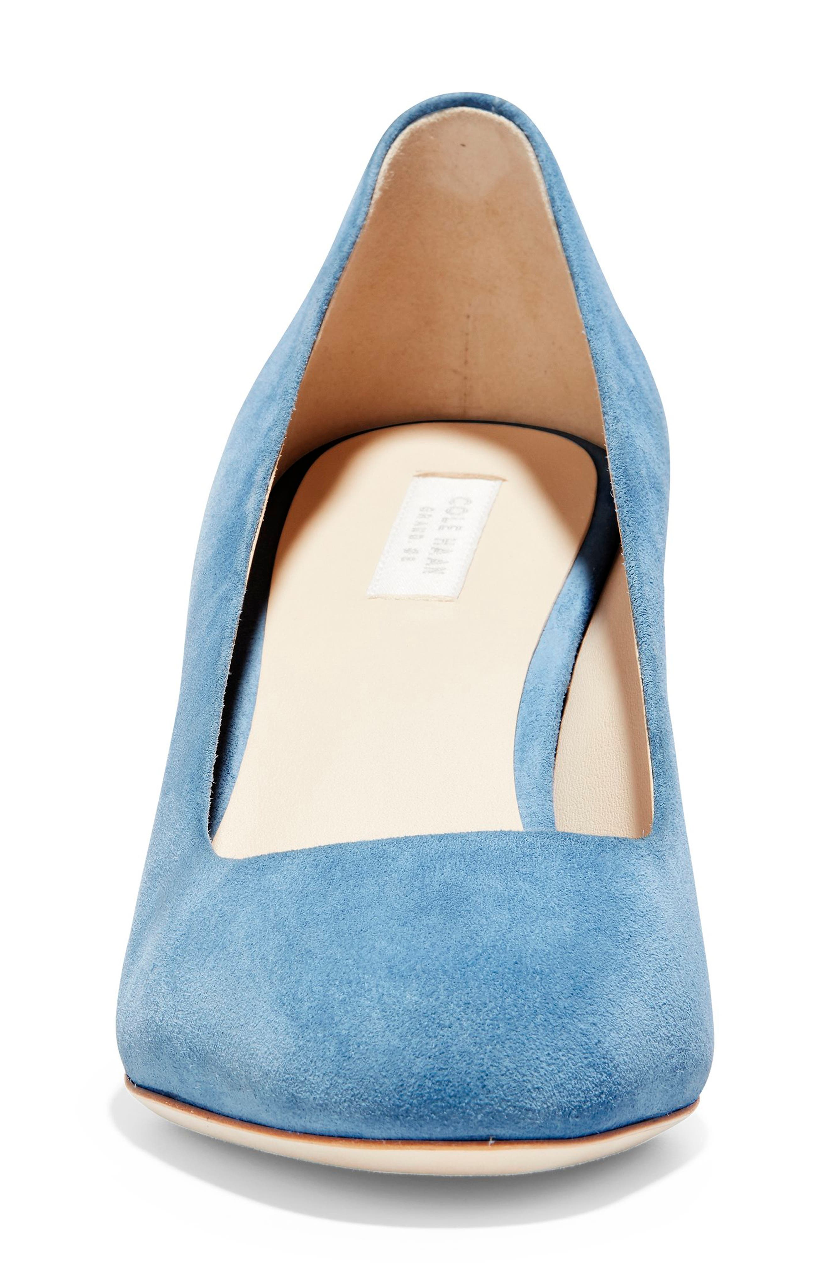 ,                             Ava Pump,                             Alternate thumbnail 4, color,                             PACIFIC COAST SUEDE