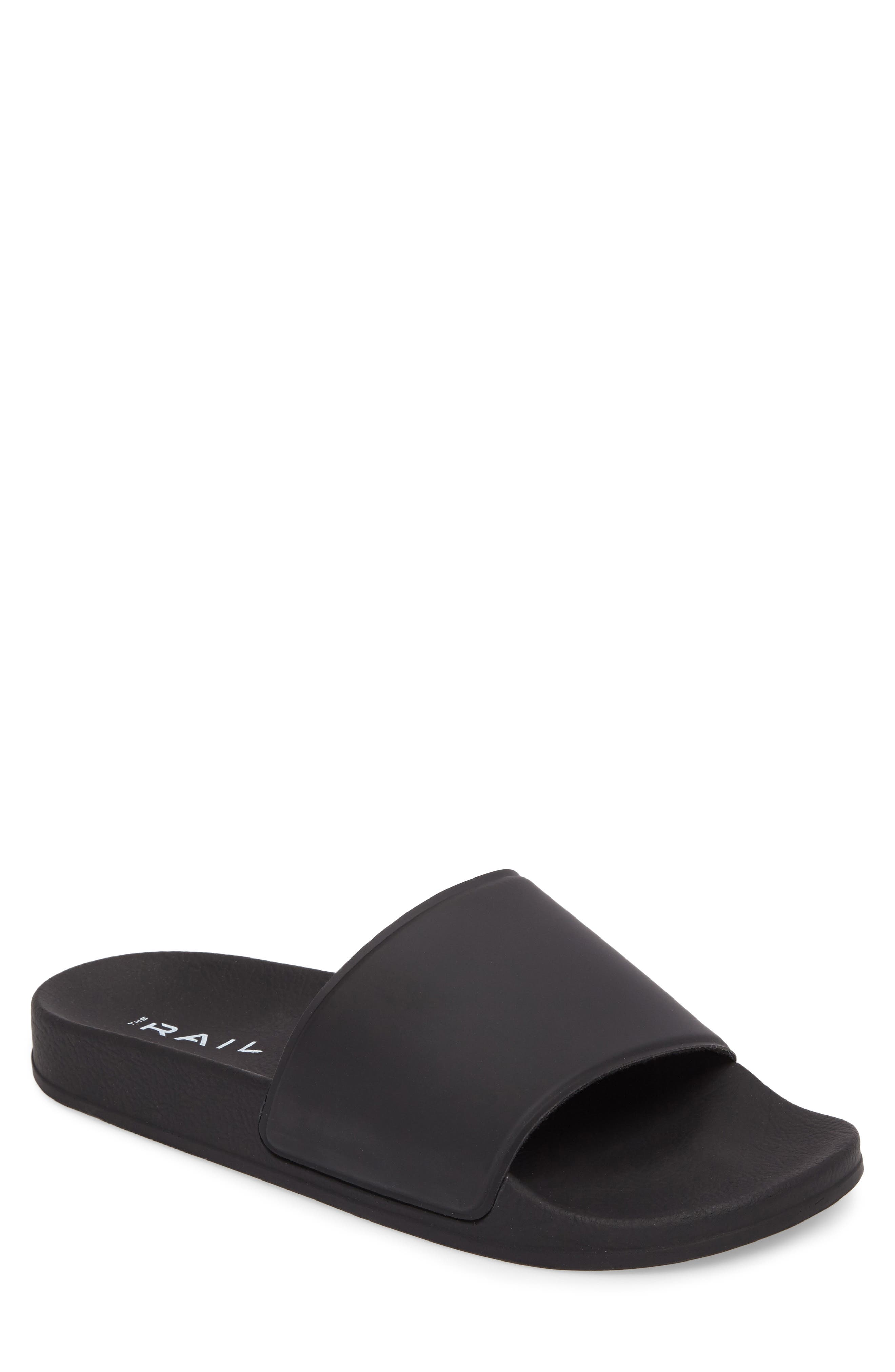 Bondi Slide Sandal, Main, color, BLACK
