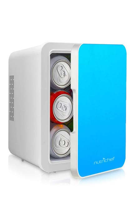 Image of NutriChef Electric Cooler & Warmer - Mini Fridge with Thermo Heating & Cooling Ability