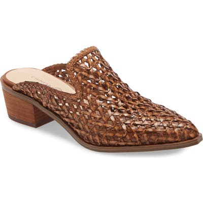 Chinese Laundry Mayflower Woven Mule- Brown