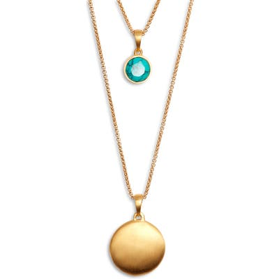 Dean Davidson Knockout Turquoise Layered Necklace