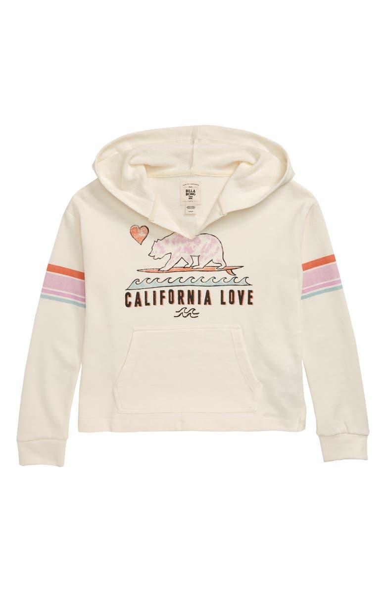 BILLABONG Cali Bear Hoodie, Main, color, COOL WIP