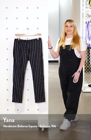 Whyatt Stripe Crop Pants, sales video thumbnail