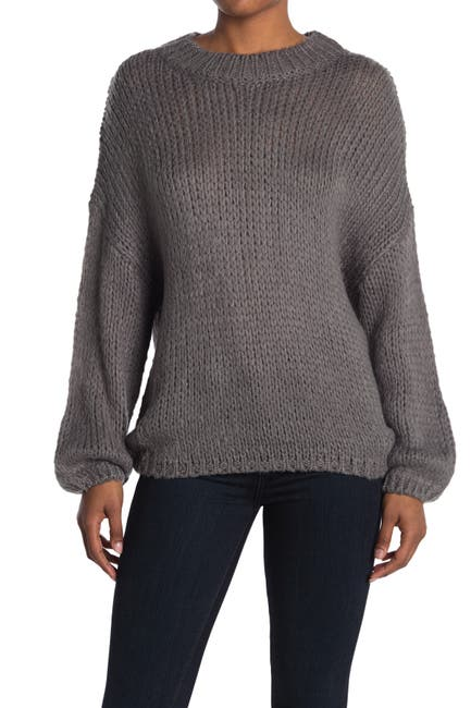 Image of Mustard Seed Solid Dolman Sleeve Sweater